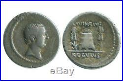 Denier L. Regulus République Romaine 42 avJC