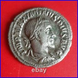 Denier Maximin Ier Thrace en Argent Rome 236