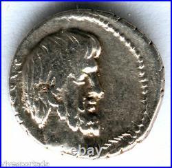 Denier République De Famille Romaine F. Titurius 127 À 89 A. C. @ Très Belle @