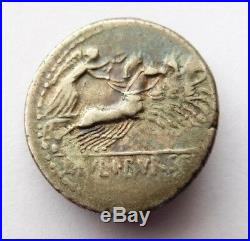 Denier Romain Argent Julia 85 Bc Rome Roman Silver Denarius Ancient Coin