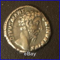 Denier d'argent, Rome, vers 139, sous Antonin Très Rare Aigle de lEmpereur