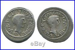 Denier de Lepidus et Octave République Romaine 42 avJC