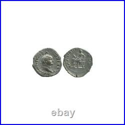 Denier de Vespasien Empire Romain 78-79 av J-C
