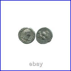 Denier de Vespasien Empire Romain 80 ap JC