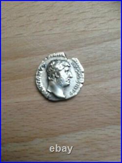 Denier hadrien moneta 137 ap jc