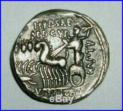 Denier république Aemilia (Marcus Aemilius Scaurus) 58 avt JC argent silver