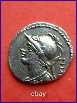 Denier république Romaine SERVILLIA