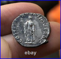 Denier romain argent