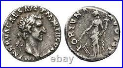 Denier romain de NERVA (avec Facture)