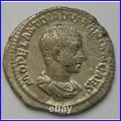 Diaduménien, Diadumenianus, Denier, PRINC IVVENTVTIS, TB+ Empire Romain DIADUME