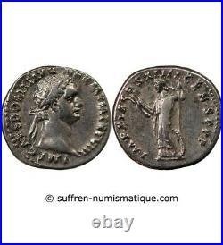 Domitien Denier Argent 88 / 89 Rome