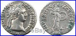 Domitien, denier, Rome, 90, IMP XXII COS XV CENS PPP, Athéna 66