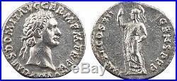 Domitien, denier, Rome, 95, IMP XXII COS XVII CENS PPP, SUP 28
