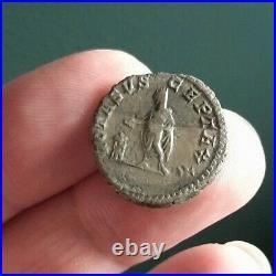 E10108 très rare denier septime sévère vota suscepta X monnaie romaine argent
