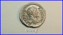 Empire Romain SEPTIME SEVERE Denier+193+211 ap J. C. TTB+