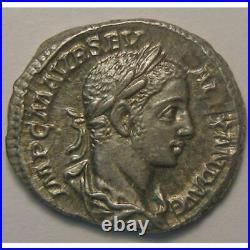 Empire romain, Alexander Severus, Denier, R/ VICTORIA AVG, 3.68 Grs, TTB+/SUP Em