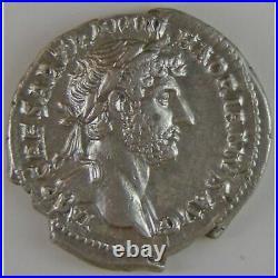 Empire romain, Hadrianus, Denier, R/ FEL P R // P M TR P COS III, 3.28 Grs, SUP