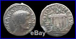 Empire romain Octave Denier fourré (36) TER ET TER DESIG RARE