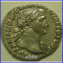 Empire romain, Trajan, Denier, R/ SPQR OPTIMO PRINCIPI, 3.28 Grs, SUP Empire Rom