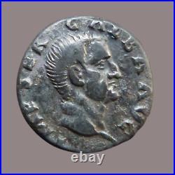 GALBA Denier Rome, 68 SPQR OB C S RARE