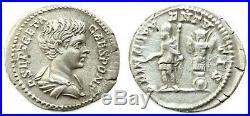 GETA (198-212) denier, 200 Rome
