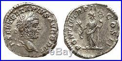 GETA (198-212) denier, 210 Rome