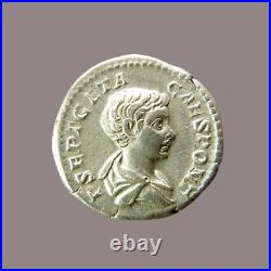 GETA Denier Rome, 200 PRINC IVVENTVTIS RIC 18 SPL