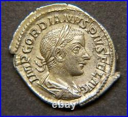 GORDIEN III 238-244 DENIER Revers P M TR P III COS P P