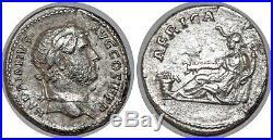 HADRIEN Denier AFRICA +136 ROME RCV. 3459