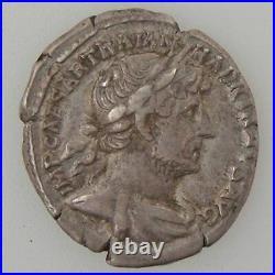 HADRIEN, Denier, R/ P M TR P COS III, TTB Empire Romain HADRIEN (117-138) Denie