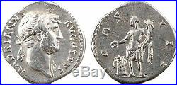 Hadrien, denier, Rome, 127, COS III 32