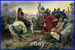 Jules César, denier à l'éléphant, 49 av JC (Julius Caesar, Romain, Imperatorial)