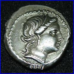 L. CORNELIUS SULLA FELIX (Dictateur), denier Rome en 81 av. JC, tête de Vénus, dou