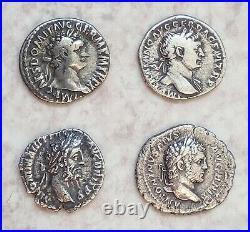 Lot De 10 Beaux Deniers Et Antoniniens Romains En Argent État Tb+/ttb. Rares