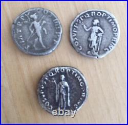 Lot de 3 deniers romains empereur TRAJAN à identifier (roman coin)