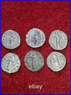 Lots De 6 Denier De Faustine Mère en bonne qualité