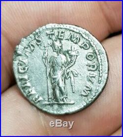 MACRIN Denier En Argent Denarius Revers Felicitas Monnaie Romaine