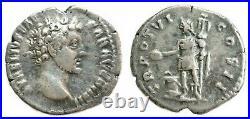 MARCUS AURELIUS MARC AURELE (139-180) denier 151-152 Rome