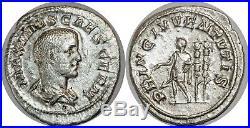 MAXIME CÉSAR Denier PRINC IVVENTVTIS +237 ROME C. 10