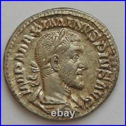 MAXIMIN I, MAXIMINUS I, Denier, VICTORIA AVG, SUP Empire Romain MAXIMINUS I 23