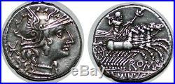 MINUCIA Denier L. MINVCI +133 ROME RCV. 125