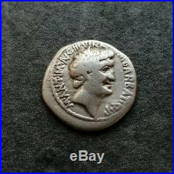 Marc Antoine Denier Caesar Imp Pont III Vir Rpc