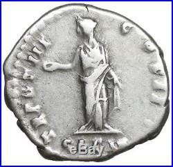 Marc Aurèle denier pieces de monnaies romaines antiques en argent denarius