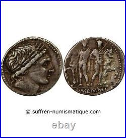 Memmia Denier Argent 109 / 108 Av Jc Rome