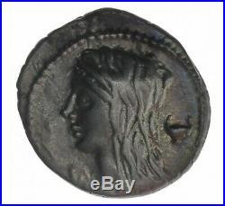 Monnaie, République Romaine, Denier, Cassia, Argent, 63 Ac, Rome, P12962