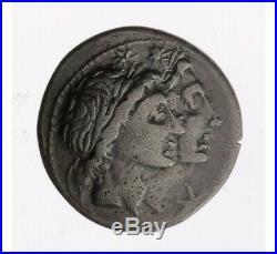 Monnaie, République Romaine, Denier, Fonteia, Argent, 108/107 Ac, Rome, P12979