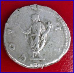 Monnaie Romaine Denier Marc Aurele 161-180