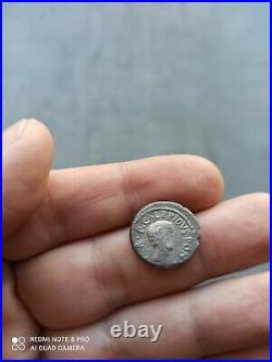 Monnaie denier romain lepide/octave
