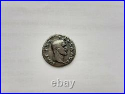 Monnaie romaine Denier Argent Galba