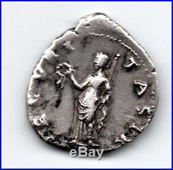 Monnaie romaine denier OTHON argent, portrait rarissime à gauche